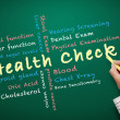 Stock Photo: Health check concept