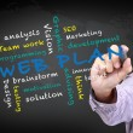 Web plan concept — Stock Photo