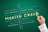 Health check concept — Foto de Stock