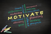 Motivate concept — Stock Photo