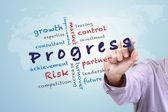 Progress concept ideas — ストック写真