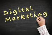 Marketing digital — Foto de Stock