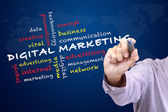 Digital marketing concept — Stock Photo