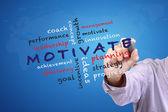 Motivate concept — Stock Photo