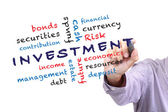Investment concept — Stock Photo