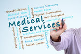 Medical Services concept — Stockfoto