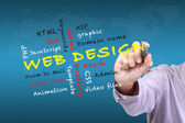 Web design teaching — Stock Photo
