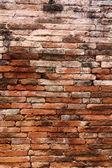 Brick wall. Grunge industrial interior — Stock Photo