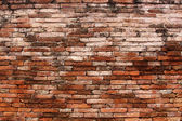 Brick wall. grunge industrial interior — Stock Photo
