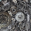 Metal gears background — Stock Photo #42392005