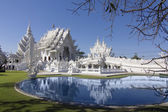 Wat Rong Khun,Chiangrai, Temple in Thailand — Stock Photo