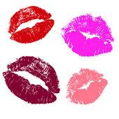 Kisses . — Stock Vector