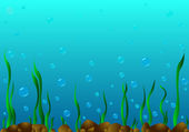 The seabed. — Stock Vector