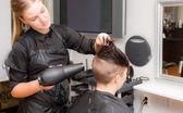 Hairstylist — Stock Photo