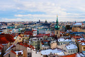 Roofs in the Prague — Stockfoto