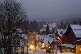 Mountain ski in the Czech Republic — Stock Photo