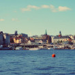 Alands . Sweden.My trip on yaht from Saint Petersburg to Alands islands. — Stock Photo