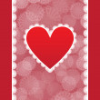 Elegant card for Valentine's Day — Stock Vector