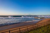 Beach Tidal Pool Blue Waves — Stock Photo