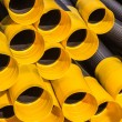 Plastic Pipes Drainage Detail — Stock Photo #36541885