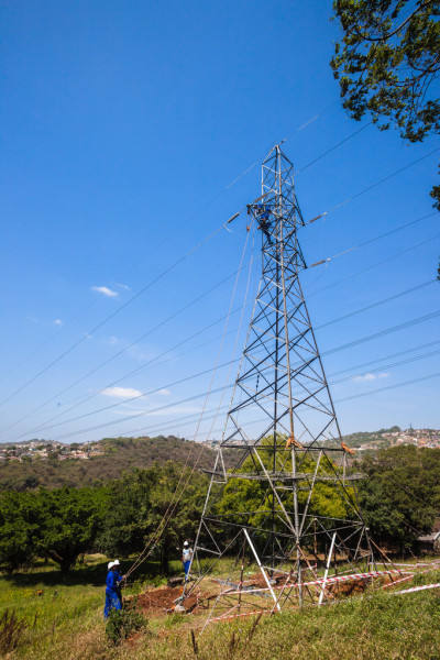 Electrical Cables Tower Maintenance