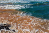 Pollution Industrial Waters Ocean Beach — Stock Photo