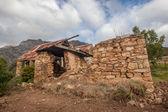 Broken Old Stone House — Stock Photo
