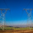 Electrical Power Lines Tower Structures — Stock Photo #37632783