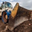Excavator Machine Large Bin Waste Site — ストック写真 #37639219