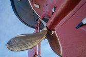 Steam Tug Vessel Brass Propeller — Stock fotografie