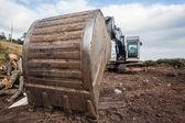 Excavator Bucket Earthwork Machine — Stock Photo