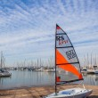 Sailing Academy Junior Yachts — Stock Photo #37911229