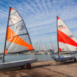 Sailing Academy Junior Yachts — Stock Photo #37911563