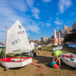 Sailing Academy Junior Yachts — Stock Photo #37912307