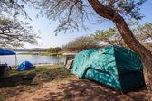 Camping Tents Holidays — Stock Photo