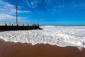Waves Beach Water Wash Tidal Pool — Stock Photo
