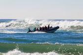 Scuba Dive Boat Ocean Waves — Stock Photo