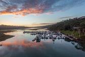 Water Lagoon Boats Landscape — Stock Photo