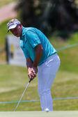Golf Professional Action Darren Clarke — Stok fotoğraf
