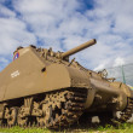 Sherman Tank — Stock Photo
