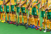 Hockey International Argentina V South-Africa — Stock Photo