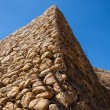 Stock Photo: Stone Stacked Wall Construction