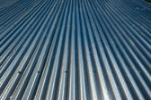 Metal Roof Grooves — Stock Photo