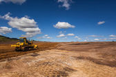 Breaking Ground Construction Machines — Stock Photo