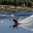 Water-Skiing Action Lake — Stock Photo #40514359