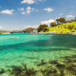 Blue Lagoon River Waters Landscape — Stock Photo