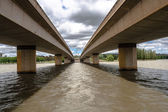 Bridges Over Waters — Foto de Stock