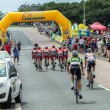 Riders Cycling Road Champs — Stock Photo #40654743