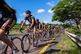 Riders Cycling Road Champs — Stock Photo