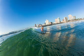 Surfing Waves Durban Water Action — Stock Photo